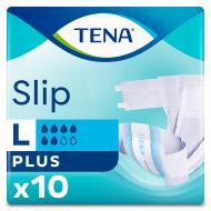 Підгузки для дорослих Tena Slip Plus Large 100-150 см 10 шт.