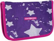 Пенал шкільний Starry Violet CF86605 Cool For School фіолетовий