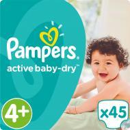 Підгузки Pampers Active Baby-Dry Maxi Plus 9-16 кг Економ 45 шт.