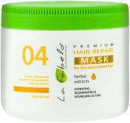 Маска для волосся La Fabelo Premium 04 відновлююча для сухого та  фарбованого волосся 500 мл 76a8108bfbbb7