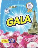 Пральний порошок для машинного прання Gala Французький аромат 2 кг