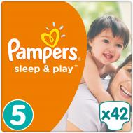 Підгузки Pampers Sleep & Play Junior 11-18 кг Економ 42 шт.