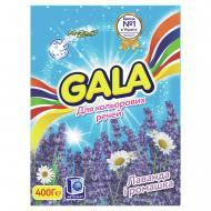 Пральний порошок для машинного прання Gala Лаванда і ромашка для кольорової білизни 0,4 кг