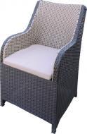 Крісло Rattwood М.О. 2097 92x56x71 см чорно-білий