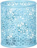 Підставка для ручок Barocco 8,3x9,6 см блакитна