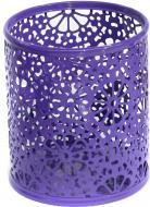 Підставка для ручок Barocco 8,3x9,6 см фіолетова