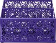 Підставка настільна Barocco 21,5x9,5x15,3 см фіолетовий