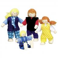 Набор кукол goki Молодая семья (51955G)