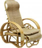 Крісло-гойдалка Одиссей 73х81/140 см натуральний
