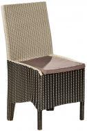 Крісло Rattwood Віконт 2509 93x55x50 см чорно-білий