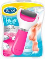 Электрическая роликовая пилка Scholl Velvet smooth Diamond Crystals pink