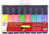 Набір текстових маркерів Optima 1-5 мм 8 шт. O15812 різнокольоровий