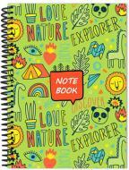 Книга для нотаток CF21213-01 А5 60 аркушів Cool For School