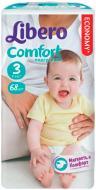 Підгузки дитячі Libero  Comfort 3 4-9 кг 68 шт.