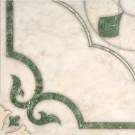 Плитка InterCerama CASTELLO зелена 17 012 43x43