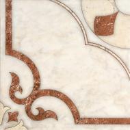 Плитка InterCerama CASTELLO червоно-коричнева 17 022 43x43