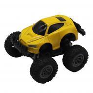 Позашляховик Funky Toys фрикційний жовтий 1:64 FT61028