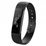 Блютуз браслет Smart Band ID115 Black (2249)