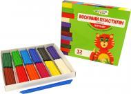 Пластилін восковий 12 кольорів 144 г 331017/Cr Гамма
