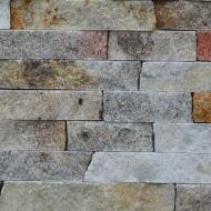 Плитка Банк каменю піщаник соломка (карпатська) не торцована 6 см 0,4 кв.м