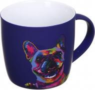 Чашка Neon Dog 350 мл фиолетовая