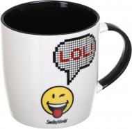 Чашка LOL 350 мл белая Smileyworld