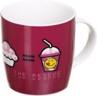 Чашка Cherry 350 мл вишневая Smileyworld