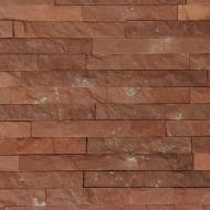 Плитка Банк каменю піщаник (червона теребовля) 30 мм 0,5 кв.м
