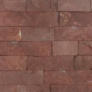 Плитка піщаник (червона теребовля) 6 см 0.4 кв.м