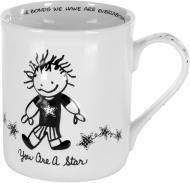Чашка Ты звезда 400 мл 120237 Enesco