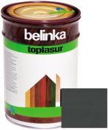 Краска-лазурь Belinka Toplasur 31 графитово-серый полуглянец 1 л