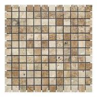 Плитка KrimArt мозаїка МКР-2П Travertin Classic 30,5x30,5 см