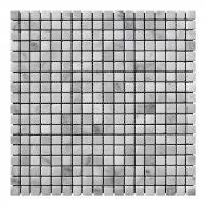 Плитка KrimArt мозаика Mix White МКР-4С 30,5x30,5