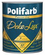 Эмаль Polifarb алкидно-уретановая DekoLux темно-коричневый глянец 0.7кг