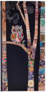 Блокнот BugArt. Black owl 20х10 см YES