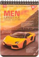 Книга для нотаток А6/80 жовтий автомобіль YES