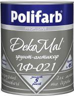 Емаль Polifarb DekoMal ГФ-021 сірий глянець 2,7кг