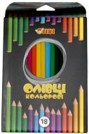Олівці кольорові 51619-TK (12/180) 18 шт. Тікі