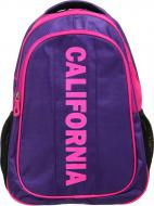 Рюкзак California фіолетово-рожевий