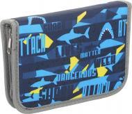 Пенал шкільний Акула 930151 блакитний
