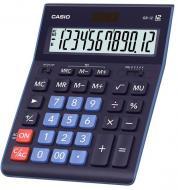 Калькулятор настільний GR-12-BU-W-EP великий дисплей Casio