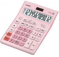 Калькулятор настільний GR-12C-GN-W-EP великий дисплей, рожевий Casio