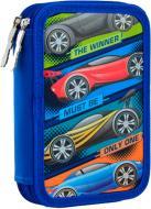 Пенал твердий подвійний HP-01 Winner Smart синій