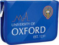 Пенал твердий одинарний без клапану HP-02 Oxford Smart синій