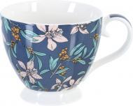 Чашка на ніжці Rustiс Blue 460 мл Fiora