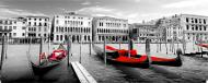 Плитка Tiger Beg Venice червоний декор 25x75