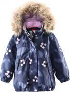 Куртка детская для девочки Reima Muhvi р.80 темно-синий 511228B-6991