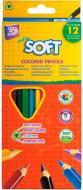 Олівці кольорові Extra Soft CF15143 12 шт. Cool For School