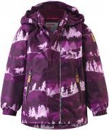 Куртка детская для девочки Reima Ruis р.86 темно-бордовый 511267-4967