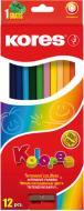 Олівці кольорові K96312 12 шт. Kores